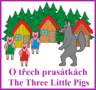 CD-The Three Little Pigs (2 jazyky)