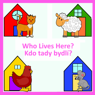 CD-Who Lives Here? (2 jazyky)