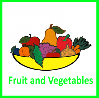 CD-Fruit and Vegetables (1 jazyk EN)