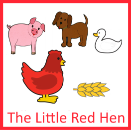 CD-The Little Red Hen (1 jazyk EN)